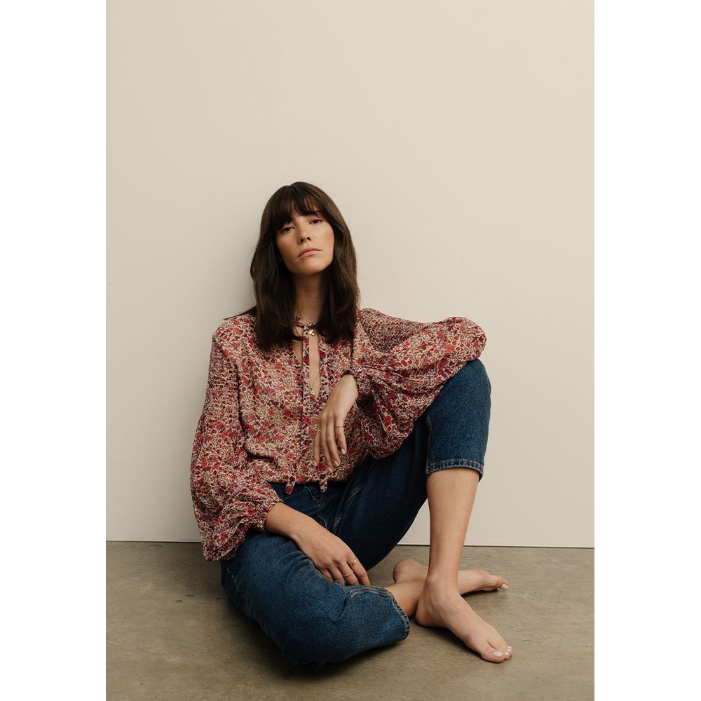 Lily & Lionel Stevie Blouse Pink