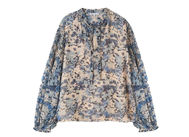 Lily & Lionel Stevie Blouse in Bloom Blue