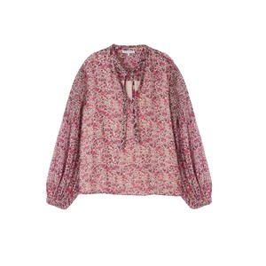 Lily & Lionel Stevie Blouse in Bloom in Pink
