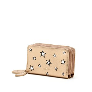 Bell & Fox Ava Mini Purse in Black Star in Gold