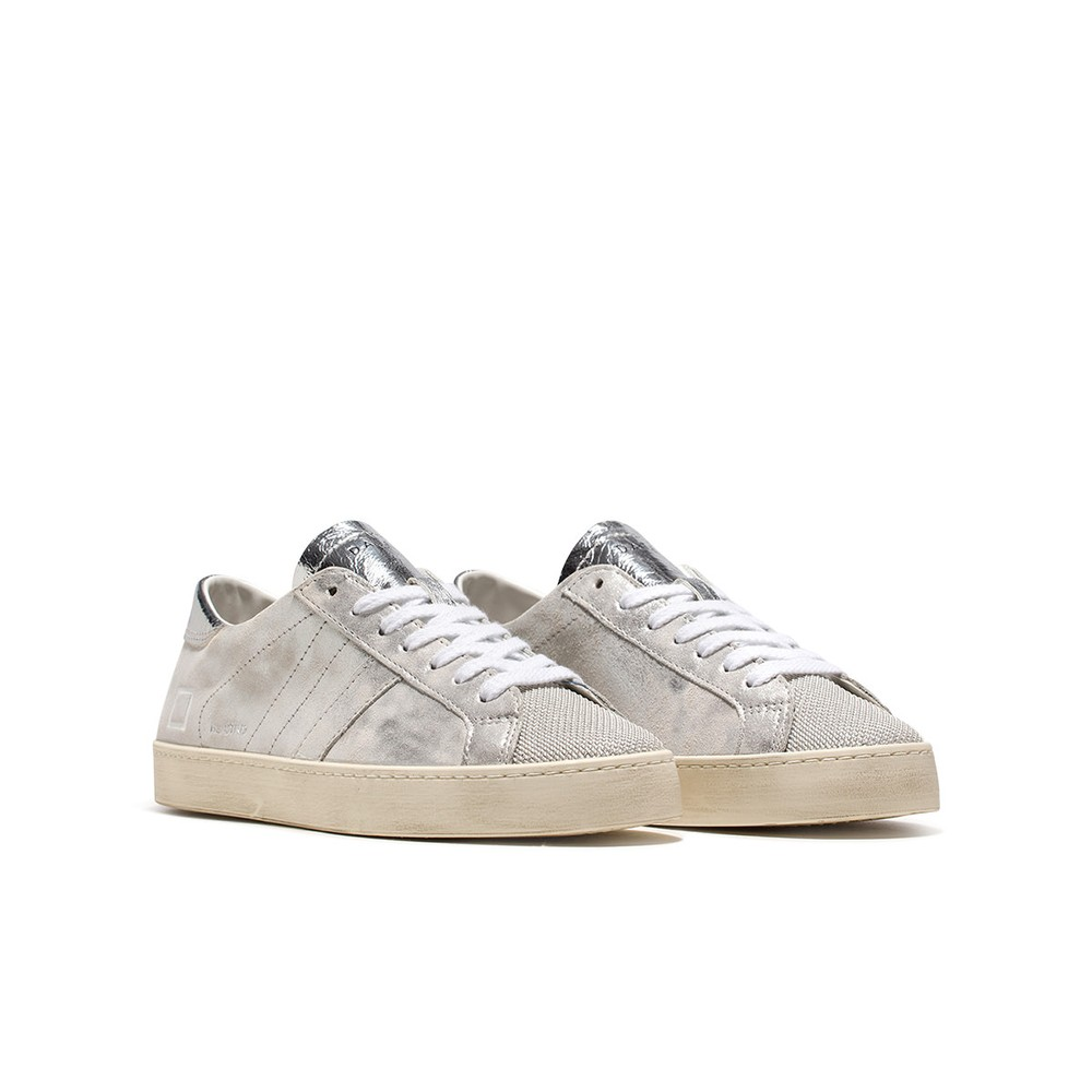 Date Hill Low Stardust Silver Trainers Silver