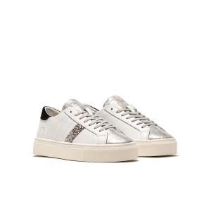 Date Vertigo Calf White/Black Trainers
