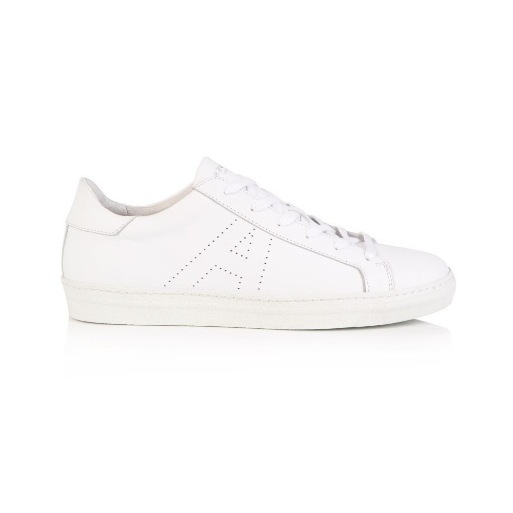 Air & Grace Cru Signature Trainers White