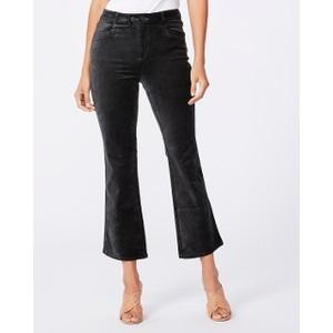 Paige Claudine Velvet Jeans in Dark Spruce