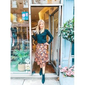 Ba&sh Heidi Skirt in Black