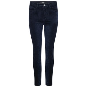Paige Cindy Velvet Jeans in Deep Navy