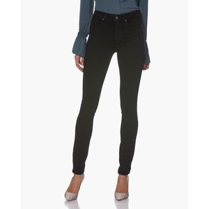 Paige Hoxton Skinny Jeans in Black Shadow