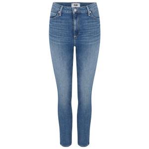 Paige Sarah Slim Jeans in Trail in Dark Denim