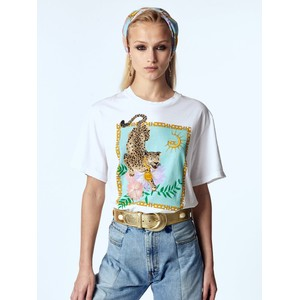 Hayley Menzies Enchanted Leopard Cotton T Shirt