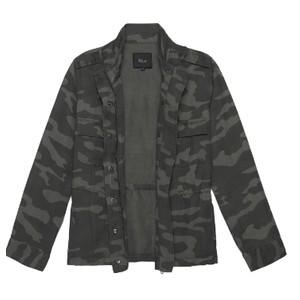 Rails Trey Charcoal Jacket in Charcoal Camo
