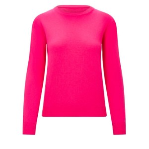 KatieAndJo Round Neck Cashmere Jumper in Bayou in Pink