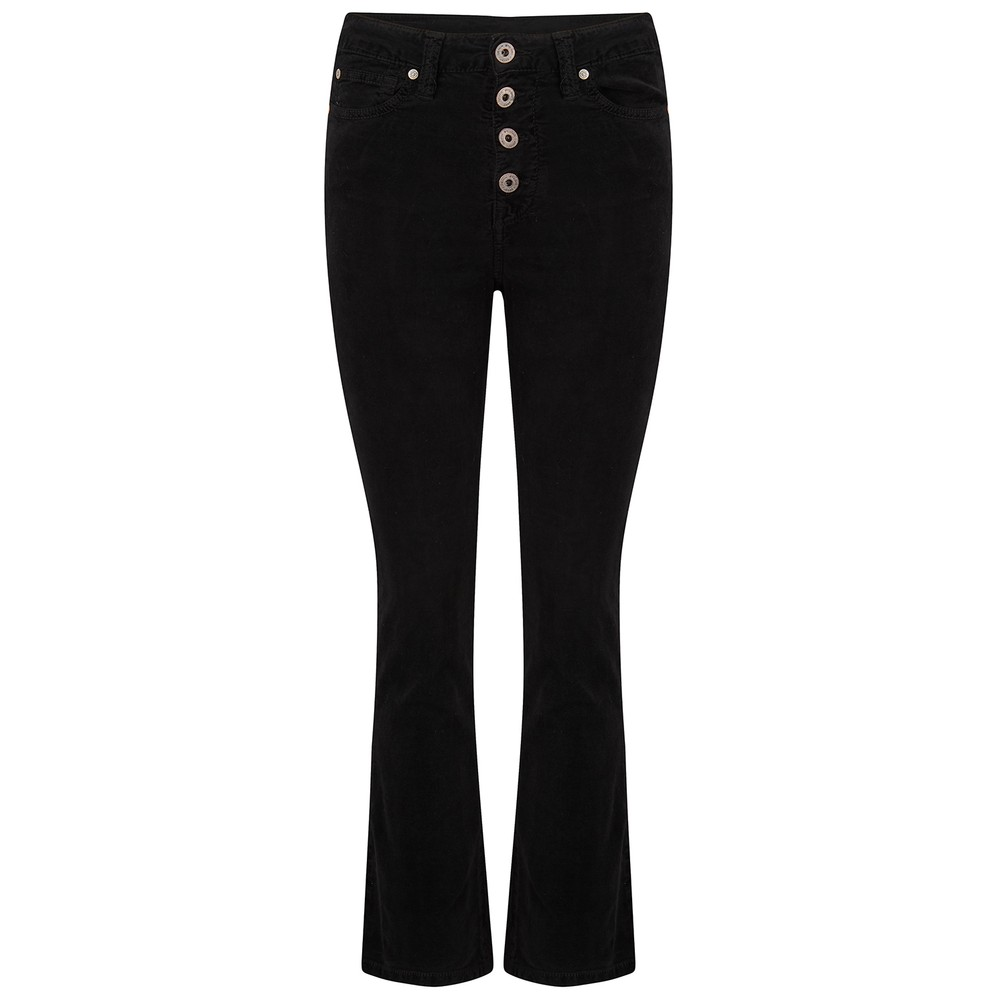 Denim Studio Camille Jeans in Black Cord Black
