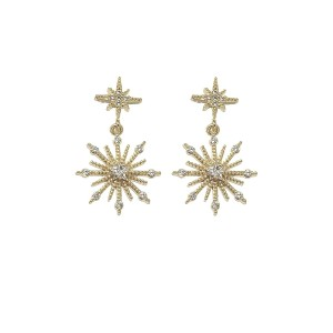 Ashiana Northern Star Stud Earrings