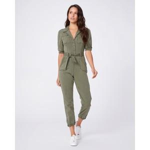 Paige Mayslie Jumpsuit in Vintage Ivy Green
