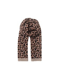 Becksondergaard Leopora Knit Scarf in Brownish Brown