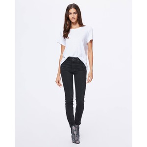 Paige Sarah Slim Jeans in Black Willow