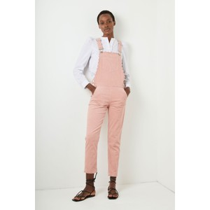 Wyse Scarlett Scallop Dungarees in Pink