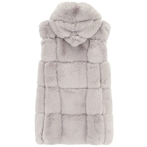 Jay Ley Faux Fur Hooded Gilet