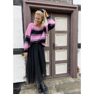 Black Colour TIffany Tulle Skirt in Black