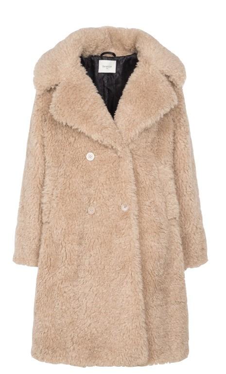 Berenice Marshall Coat Beige