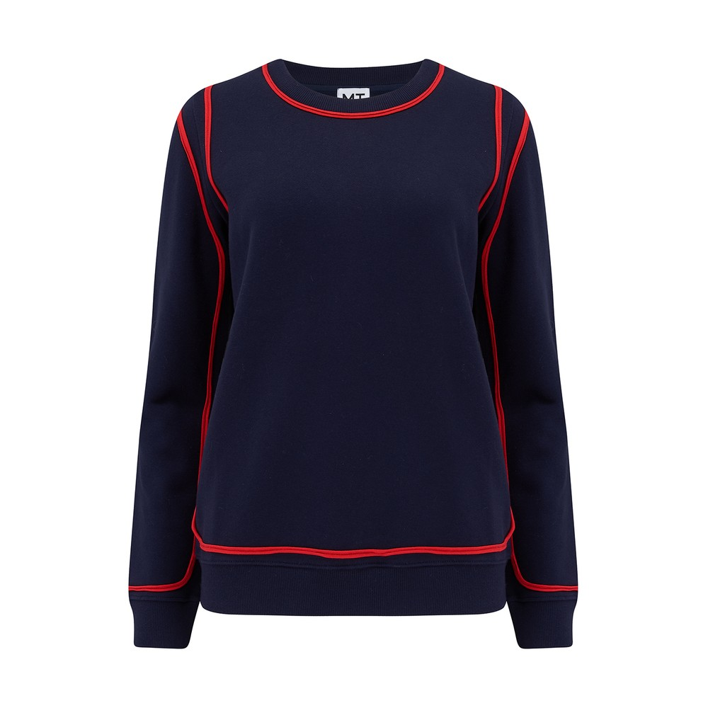 Madeleine Thompson Winona Sweater Navy