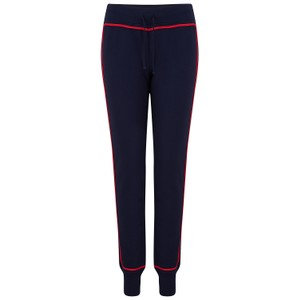Madeleine Thompson Drew Tracksuit Bottoms in Navy/Red