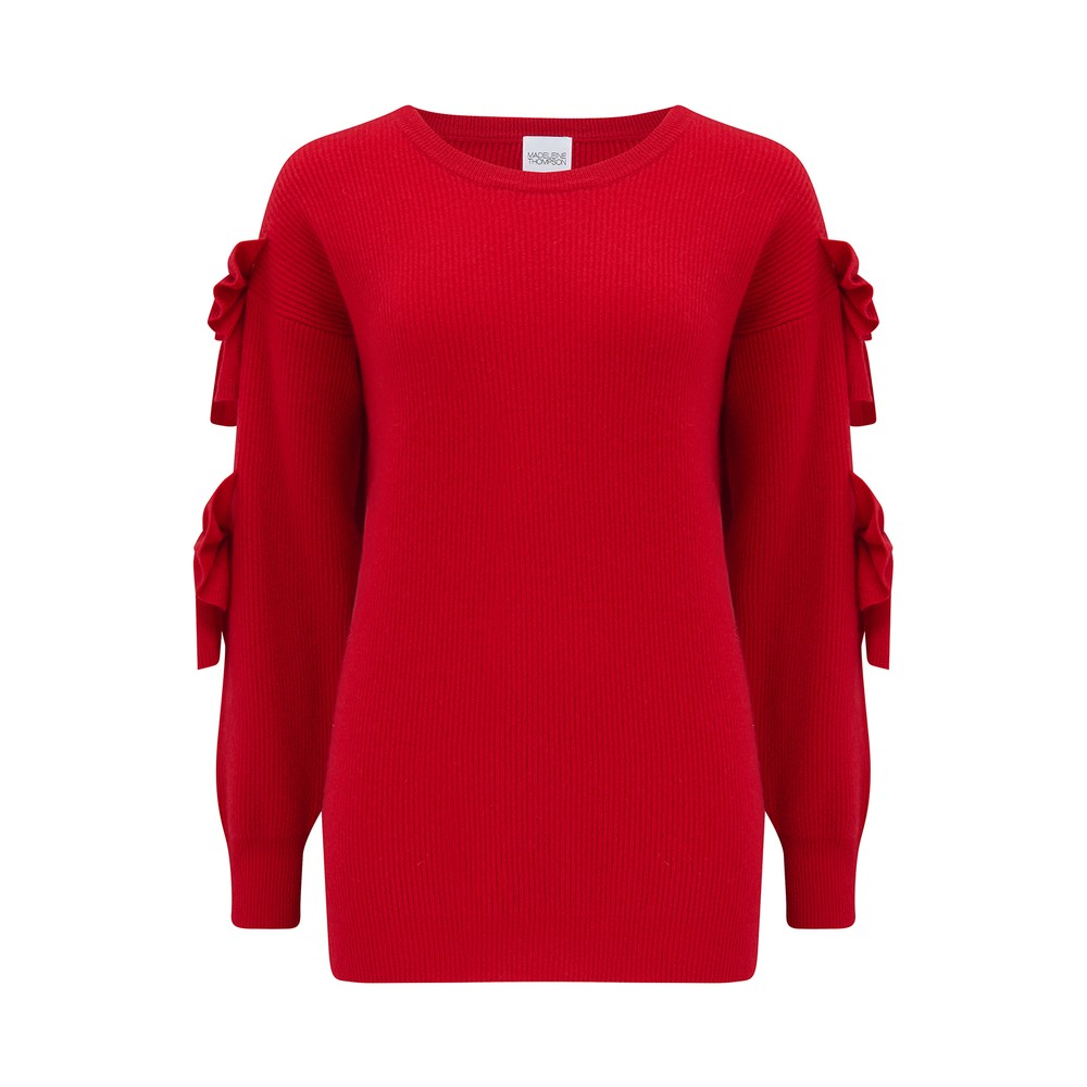 Madeleine Thompson Pretty Woman Jumper Red
