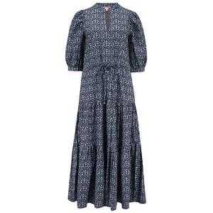 Seraphina Voyage Dress in Denim Blue