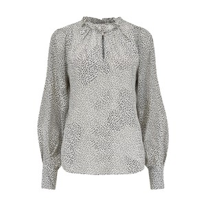 Rebecca Taylor Meadow Blouse in Black & White