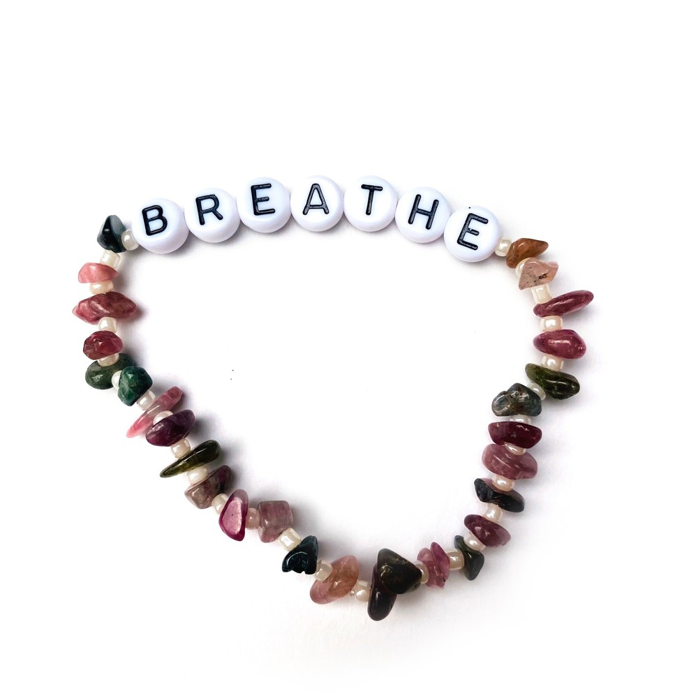 TBalance Breathe Crystal Bracelet Multicoloured
