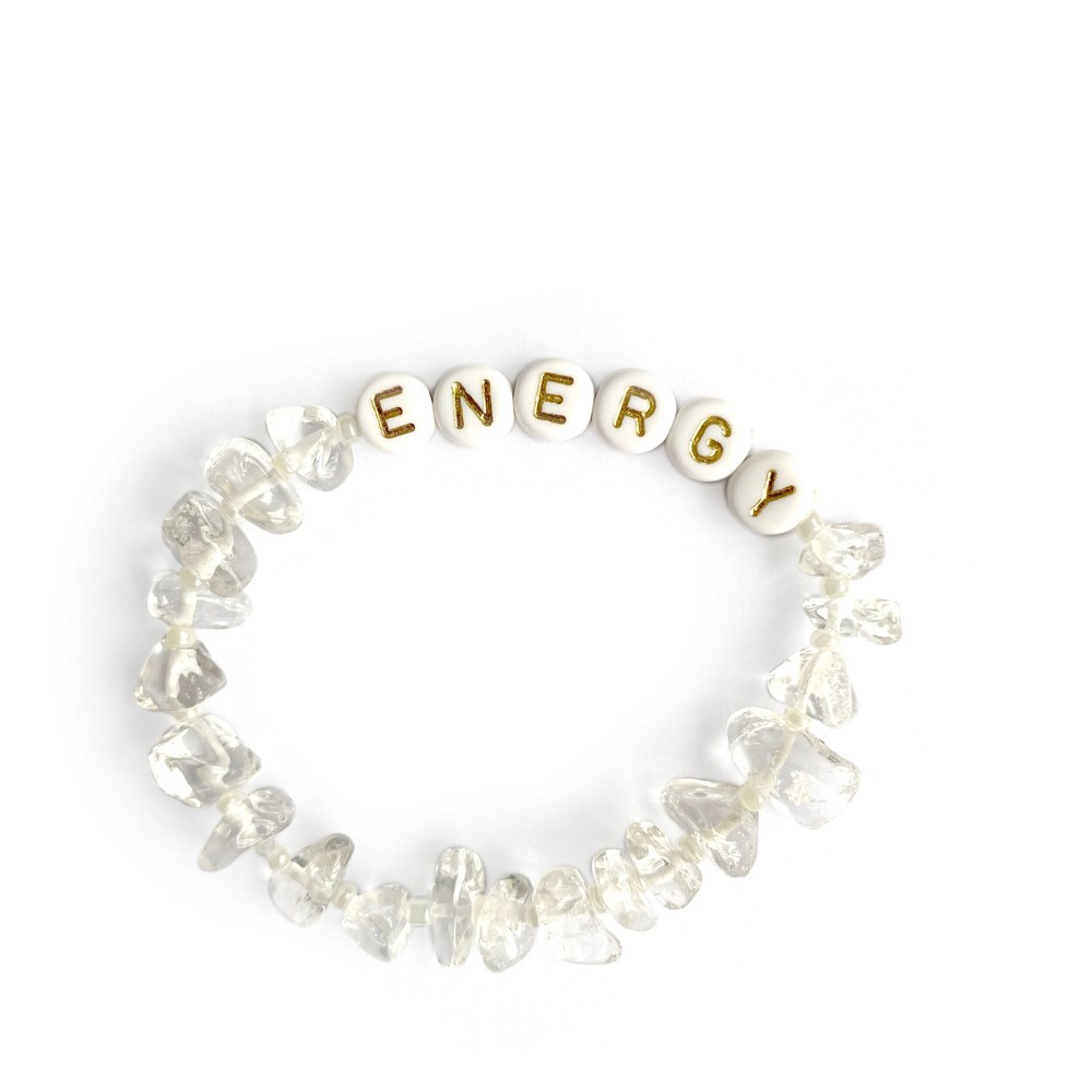 TBalance Energy Crystal Bracelet Natural