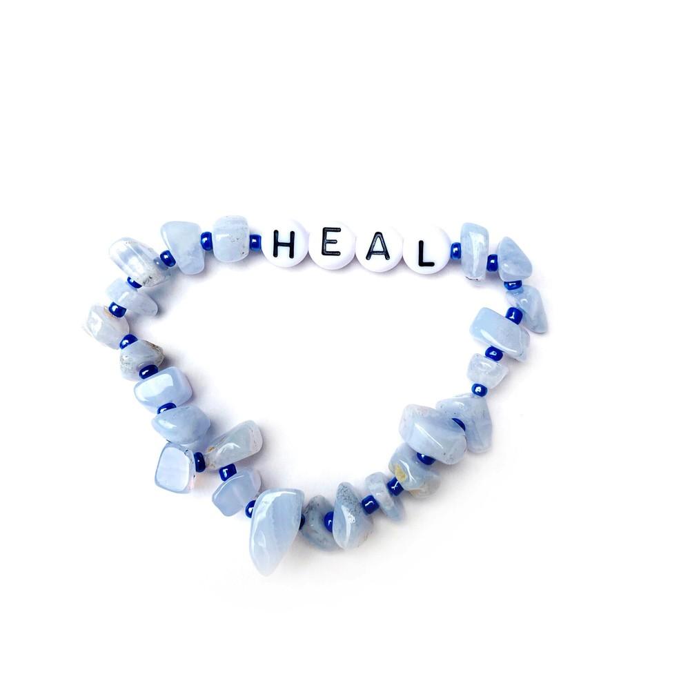TBalance Heal Crystal Bracelet Blue