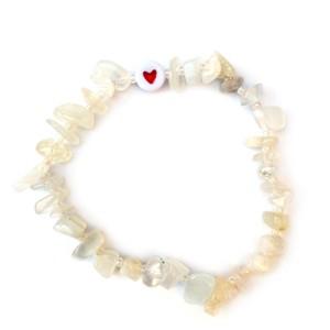 TBalance Love Heart Crystal Bracelet