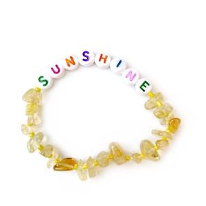 TBalance Sunshine Multi Crystal Healing Bracelet