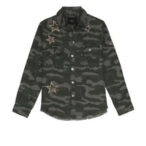 Rails Loren Charcoal Star Shirt