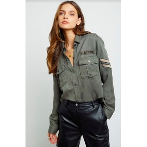 Rails Conrad Olive Military Shacket