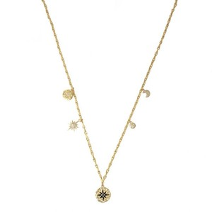 Ashiana Black Star Necklace