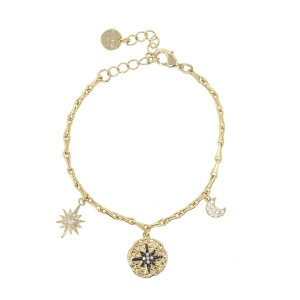Ashiana Black Star Bracelet