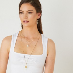 Ashiana Saturn Long Necklace