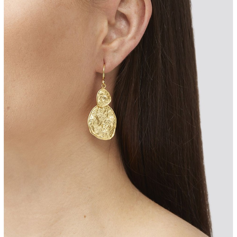 Ashiana Gold Secret Earrings Gold