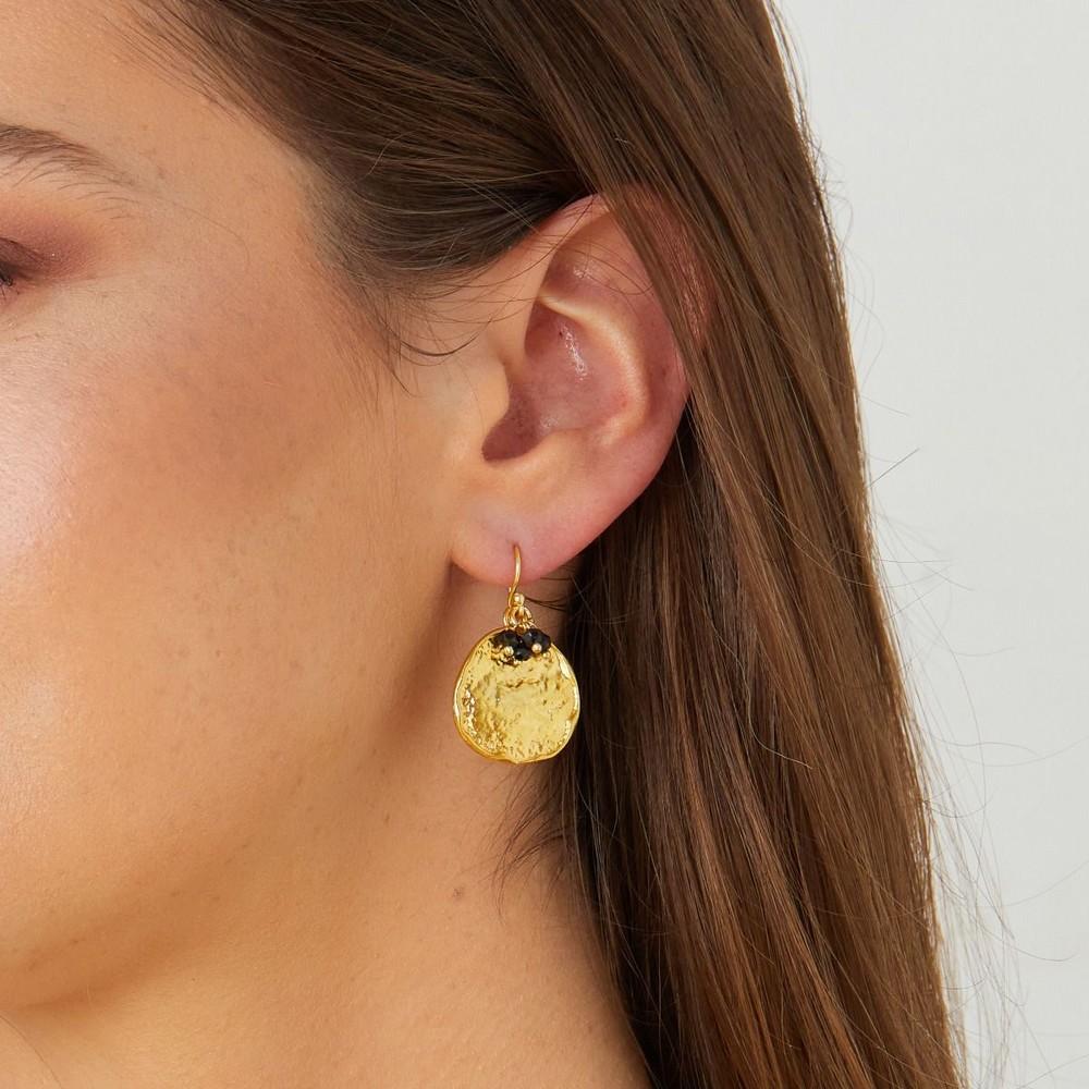 Ashiana Solange Earrings Black