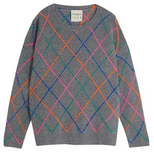 Jumper 1234 Impossible Argyle Crew Jumper
