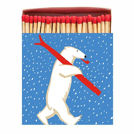 Archivist Skiing Polar Matchbox None