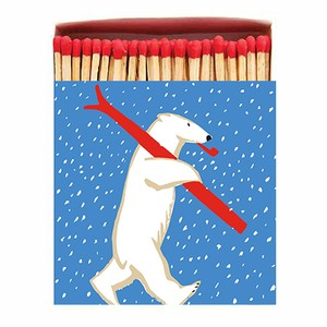 Archivist Skiing Polar Matchbox