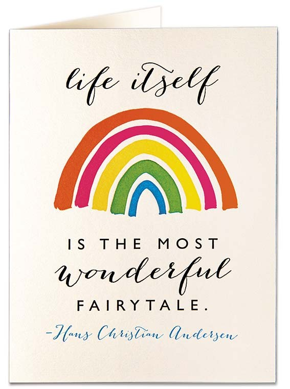 Archivist Life's A Fairytale Card None