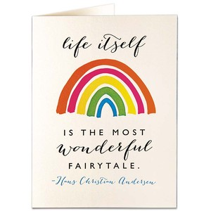 Archivist Life's A Fairytale Card