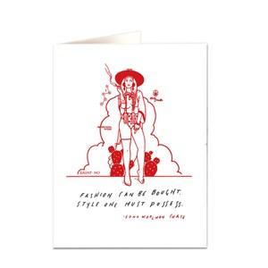 Archivist Fashion Card