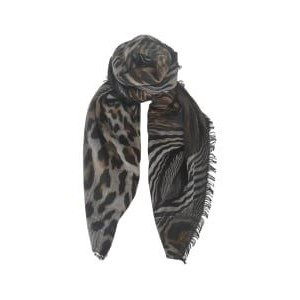 Black Colour  Electra Scarf