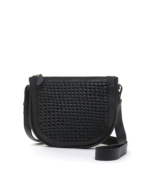Bell & Fox Caro Weave Croosbody Bag in Black Black