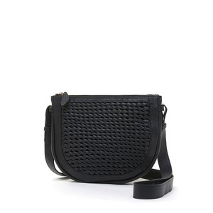 Bell & Fox Caro Weave Croosbody Bag in Black